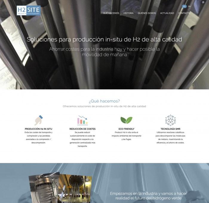 Hydrogen Onsite tiene nueva web