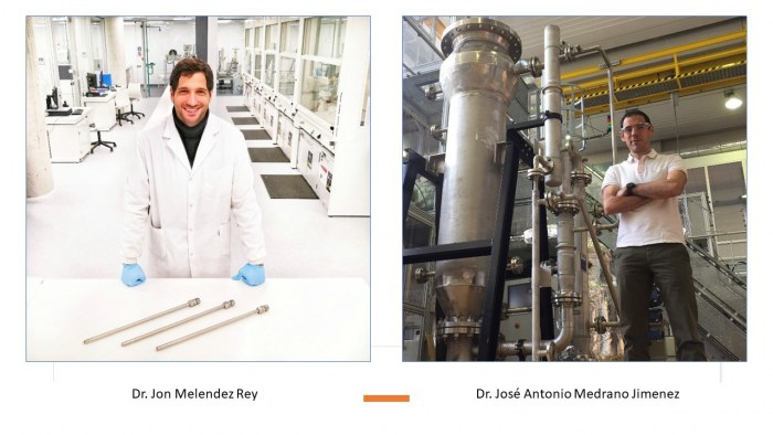 We present our people, they are behind the H2SITE advanced A-SRM technology