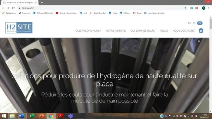 Hydrogen Onsite a un nouveau site Web en français